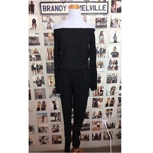 NWOT Brandy Melville Off the Shoulder Jumpsuit